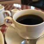 ロビンフッド - コーヒーは、サイフォンだったのかドリップだったのかわかりませんが、香り豊かなブレンドでした(2018.9.30)
