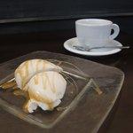 トラットリア シェ ラパン - 紅茶でいかが? パンナコッタ