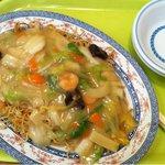 北京餃子 - 2011.09 エビ焼きソバ