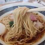 らーめんハウス筑波 - 細ストレート麺