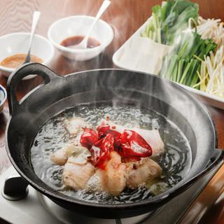 【名物】痺れ麻辣水炊き鍋