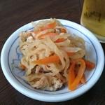 中華料理 タカノ - お通し