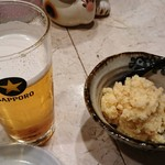 93644016 - ポテサラと生ビール