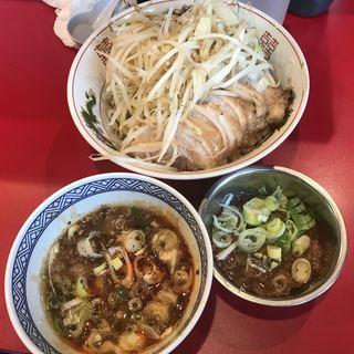 ラーメン英二 - 料理写真:【2018.9.27】つけ麺 豚増し アブラ別皿
