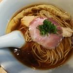 らぁ麺 はやし田 新宿本店 - 醤油らぁ麺 800円