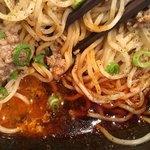 汁なし担担麺専門 キング軒 - 大盛り3辛680円の汁