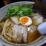 魚介ラーメン武蔵 - 魚介チャーシュー麺 1