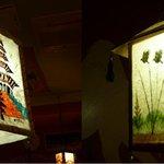 サルガム - 店内 ランプ