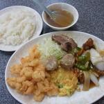 中華料理 旭 - 五品定食
