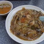 中華料理 旭 - 中華丼