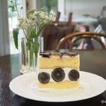 シェ・ラ・メール - 長野パープルのショートケーキ