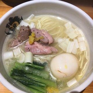 中華そば 満鶏軒 - 料理写真:ビジュアルも麺魚より雑に感じてしまった
