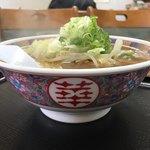 長者 - 料理写真:野菜醤油ラーメン700円