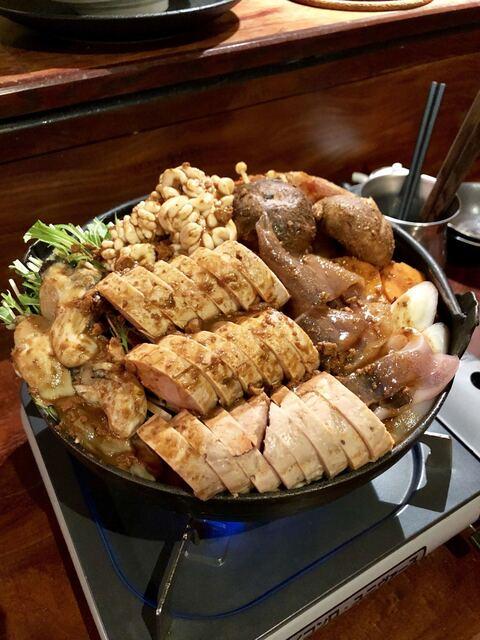 牡蠣貝鮮かいり - 痛風鍋