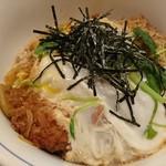 とんかつ稲 - かつ丼のアップ