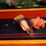 呉竹鮨 - 蟹(ミソ乗せ)