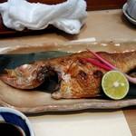 呉竹鮨 - ノドグロ(塩焼き)