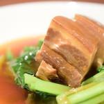 中国菜 膳楽房 - 皮付き豚の角煮@1,350円:寄ってみました