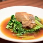 中国菜 膳楽房 - 皮付き豚の角煮@1,350円