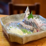 八丈島 - 秋刀魚刺@780円