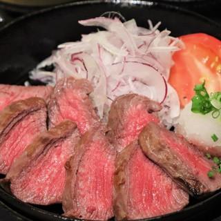 人気NO1!!島根和牛の鉄板ステーキ