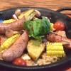 バルカ - 料理写真:ソーセージのパエリヤ