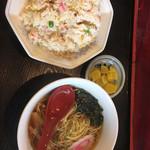 中華料理 鮮味園 - 料理写真:半チャーハンセット770円
