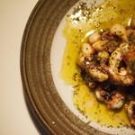 Dining85 - タコのバジルソテー