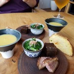 蕎麦 ハジメ - 料理写真:前菜