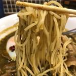 若草カレー本舗 - 中細ストレート麺