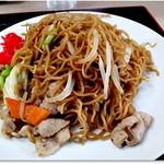 六豊園 - 料理写真:炒め焼きそばはしょうゆ味 550円