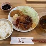 キッチン 高山 - 料理写真:ヒレカツとローストポーク定食