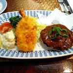 レストラン 西洋軒 - タンシチュー&エビフライセット