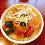 ラーメン しんどう - 角煮丼 450円