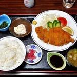 朝日みどりの里食堂 - 料理写真:みどりの里定食(ご飯大盛り)