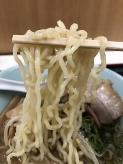 我流麺舞 飛燕 - 中太縮れ麺