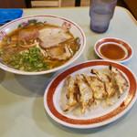 喜楽園 - 味噌ラーメン 餃子