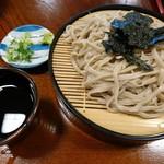 手打そば 藤 - 料理写真:ざるそば(並)(750円)