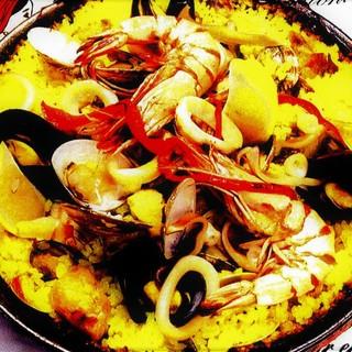 本場のスペイン料理