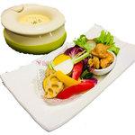 タッカルビと旬野菜のチーズフォンDO