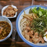AFURI - 柚子露 つけ麺(麺300g)角煮