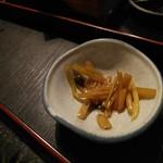 禅風亭なゝ番 - わさびの茎の三杯酢