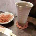 Benihouzuki - そば湯割650円