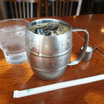 カフェヨシノ  - 食後のアイスコーヒー
