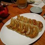 続百里香 - 焼餃子6ヶ 550円