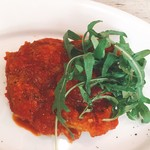 SAKEビストロNa-Na - 鶏もも肉のトマト煮込み