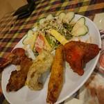 ラージカレー - 前菜盛り