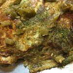 LOPEZ - (肉・玉・野菜)そば入り に ハラペーニョ(青唐辛子)トッピング