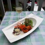 イタリア料理 B-gill - 料理写真:ランチの前菜盛合せ