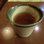 料理屋なかむら - 黒豆茶